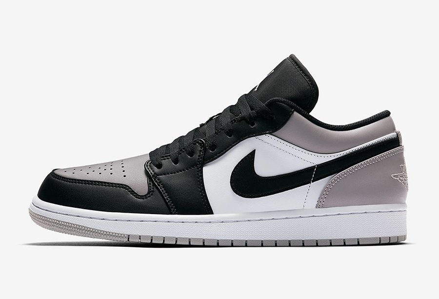 Air Jordan 1 Low Atmosphere Grey 553558-110
