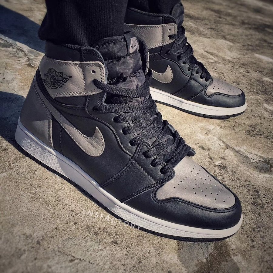 Air Jordan 1 Shadow 2018 On Feet