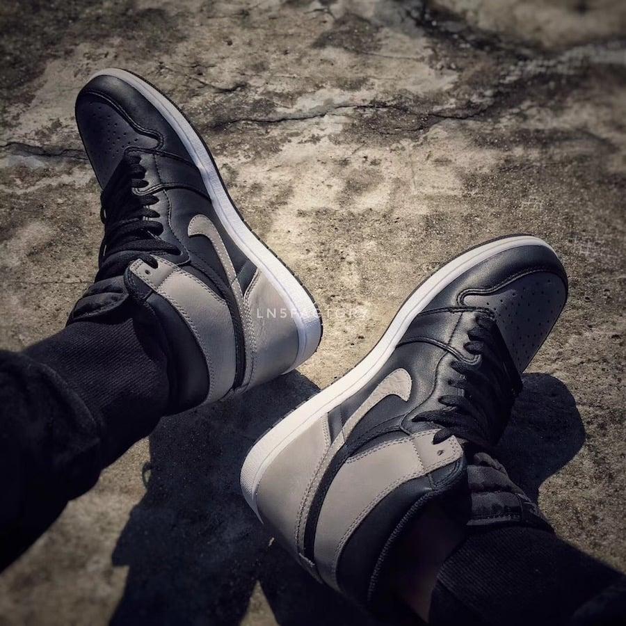 Air Jordan 1 Shadow 2018 On Feet