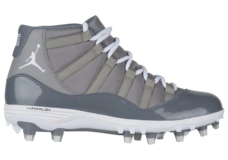 Air Jordan 11 Cool Grey TD Cleats
