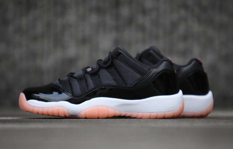 Air Jordan 11 Low Bleached Coral 580521-013