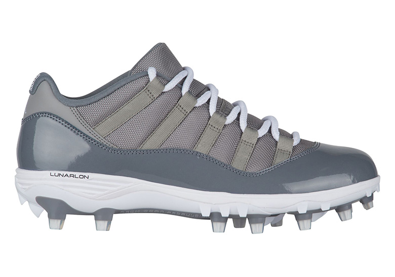 Air Jordan 11 Low Cool Grey TD Cleats