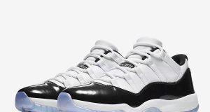 Air Jordan 11 Low Easter White Emerald Rise Black 528895-145