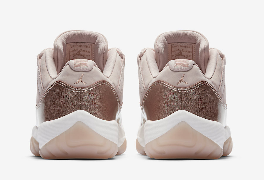 Air Jordan 11 Low Retro Womens Rose Gold AH7860-105
