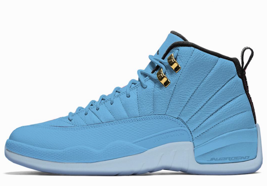 on sale 43e2f 5de09 Air Jordan 12 University Blue 2018 Release Date