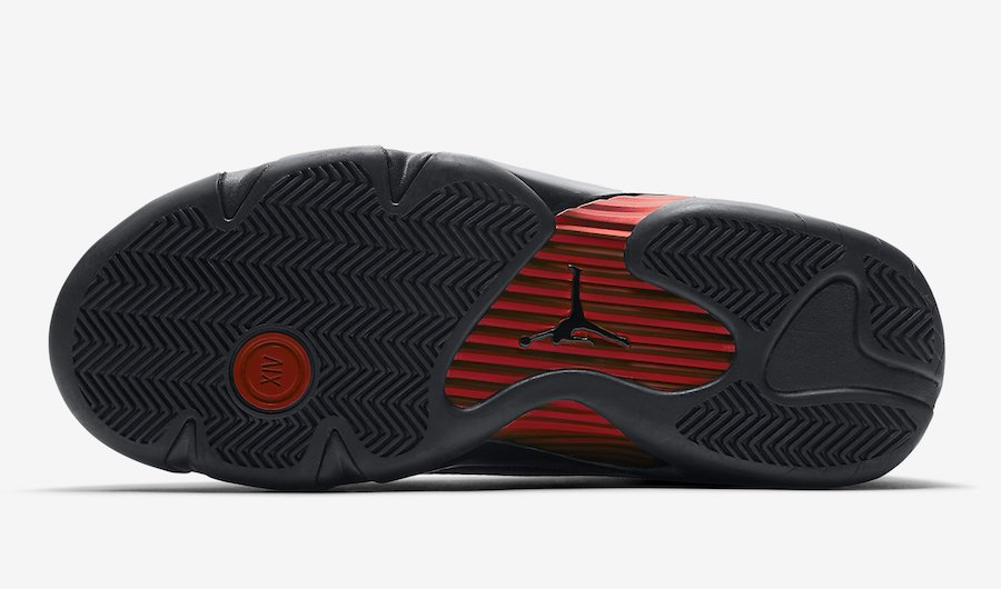 Air Jordan 14 Last Shot Black Red 487471-003