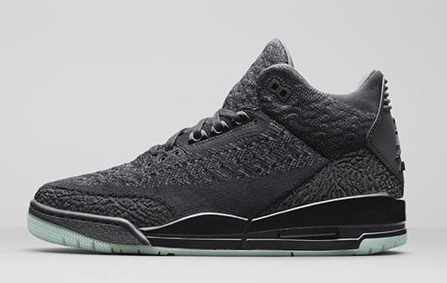 191c8a227518ec Air Jordan 3 Flyknit Black Release Date