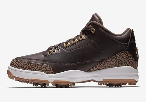 Air Jordan 3 Golf Bronze Release Date