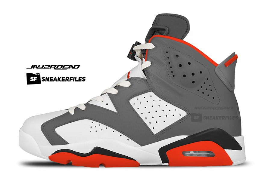 Air Jordan 6 Air Trainer SC Infrared