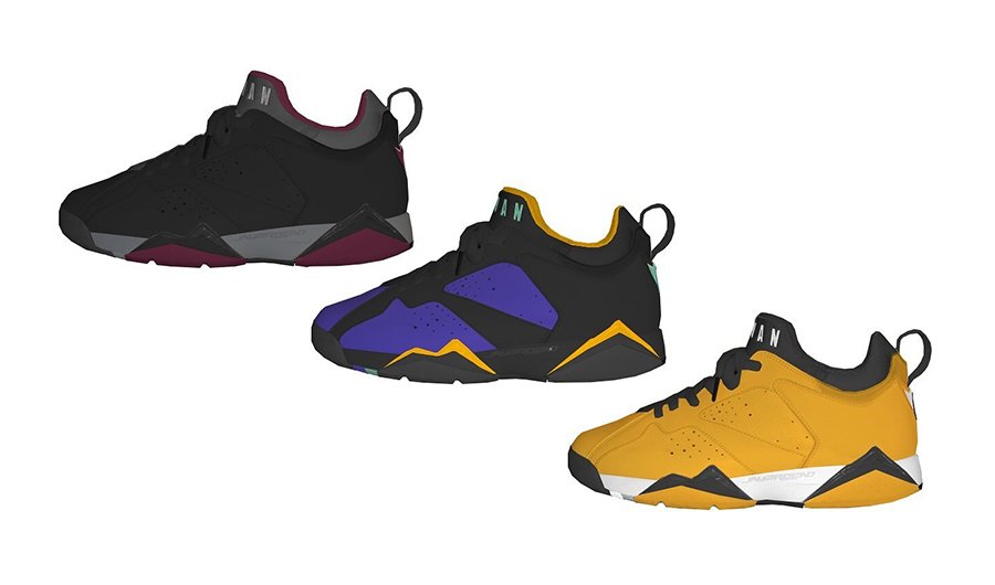 new concept 30ebf b5a06 Air Jordan 7 Low 2018 Colorways, Release Dates | SneakerFiles