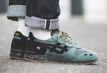 Asics Gel Lyte Dark Forest Rose Taupe