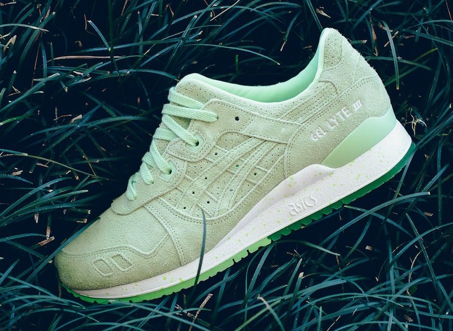 Asics Gel Lyte III Patina Green