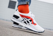 Asics Gel Lyte V Sunset Orange