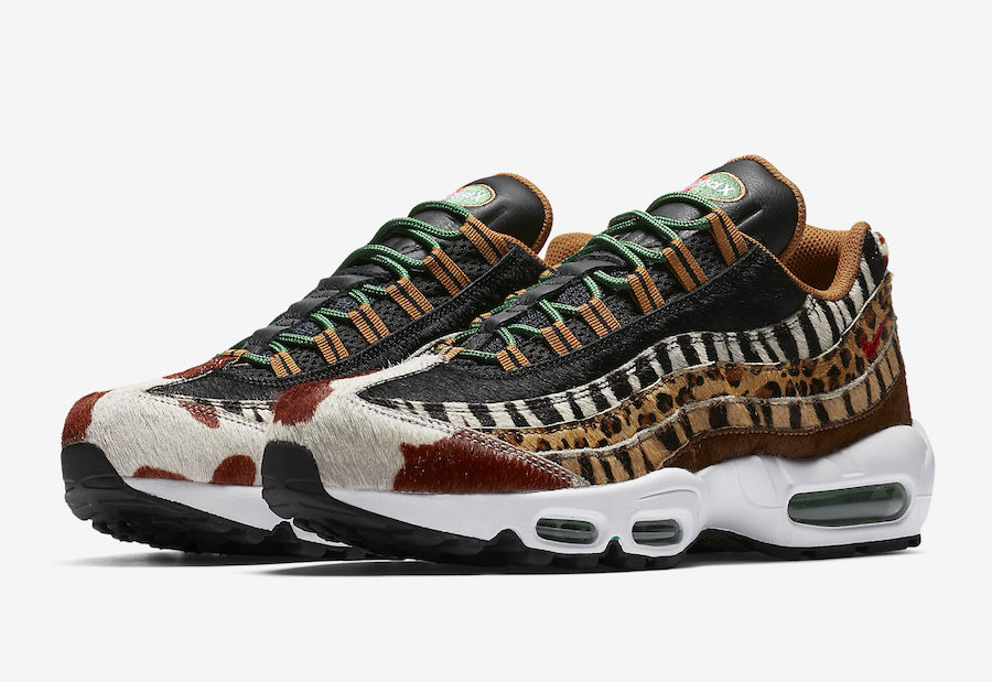 db16176d524b1a atmos Nike Air Max 95 Animal Pack AQ0929-200 Release Date