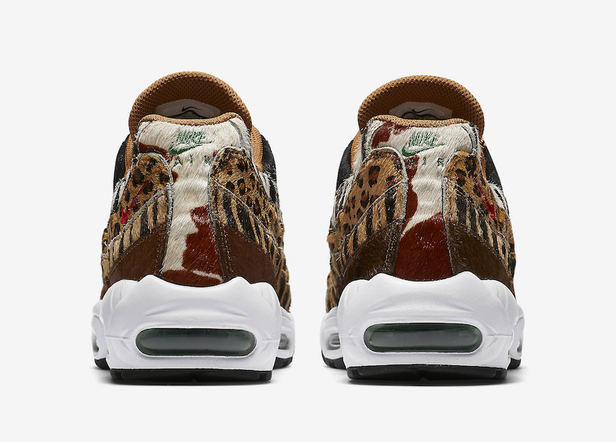 atmos Nike Air Max 95 Animal Pack AQ0929-200 Release Date
