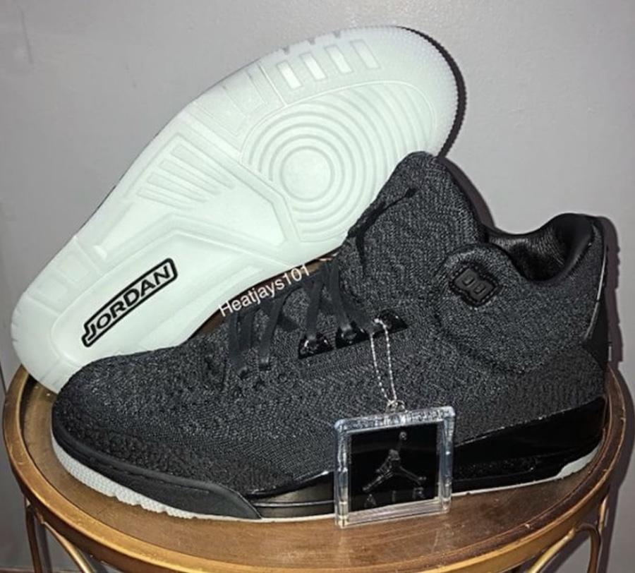 Black Air Jordan 3 Flyknit AQ1005-001
