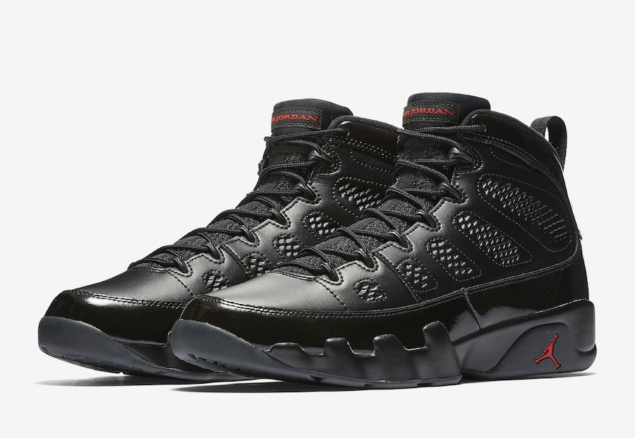 buy online 4974b 39918 Air Jordan 9 Bred Black Red 2018 Release Date | SneakerFiles