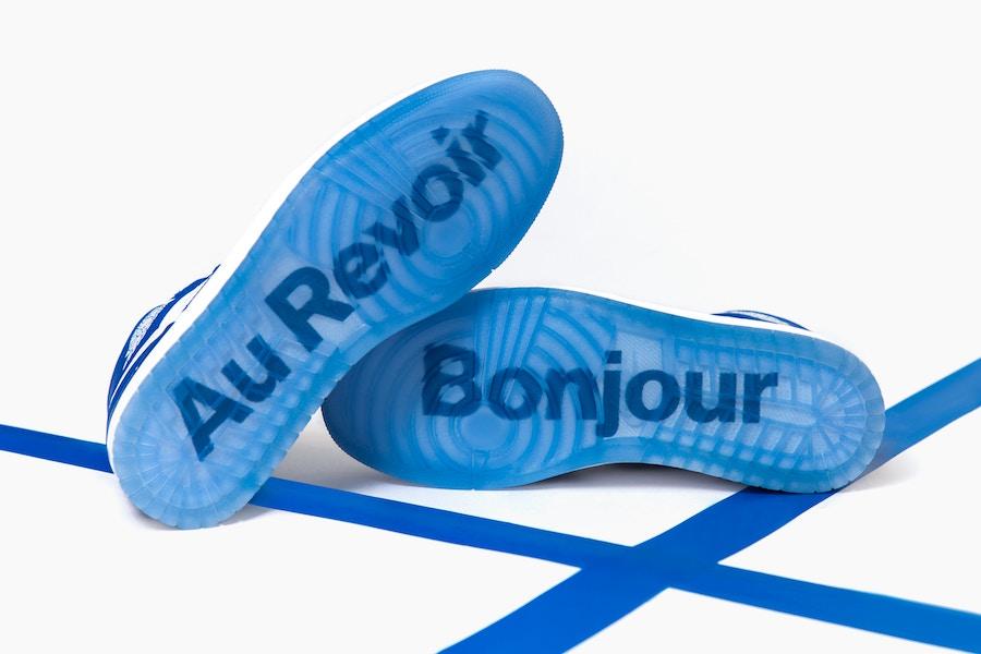 colette Air Jordan 1 Au Revoir
