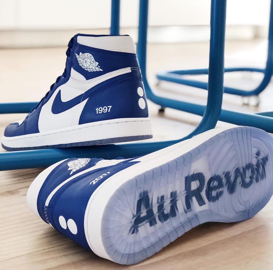 colette Air Jordan 1 Blue