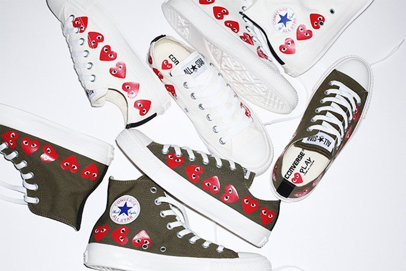COMME des GARCONS PLAY Converse Chuck Taylor All-Star Collection