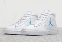 0e25e7b8111f Converse Pro Leather Birth of Michael Jordan Celebrates 35th Anniversary of  MJ s NCAA Title