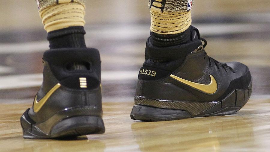 DeMar DeRozan Nike Kobe 1 Protro Mamba Day