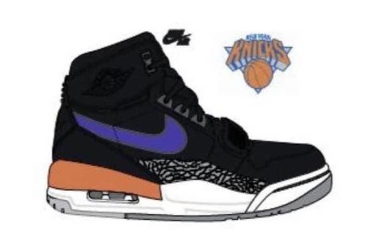 Don C Jordan Legacy 312 New York Knicks
