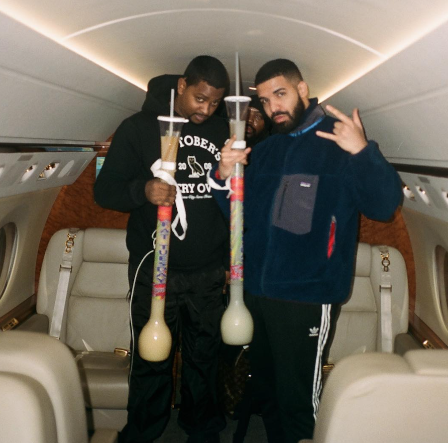 Drake adidas Track Pants