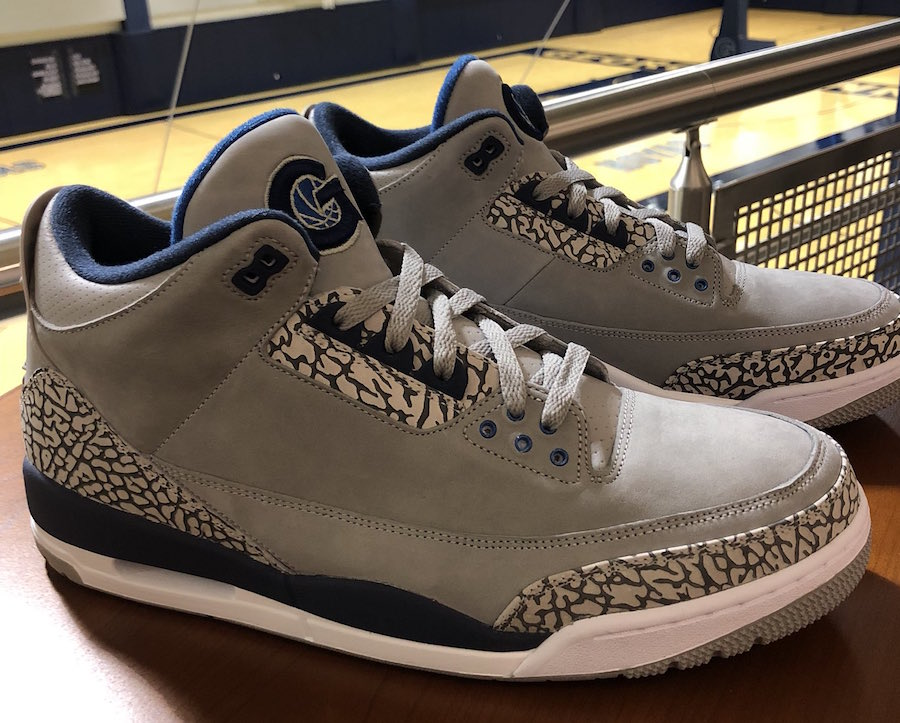Georgetown Hoyas Air Jordan 3