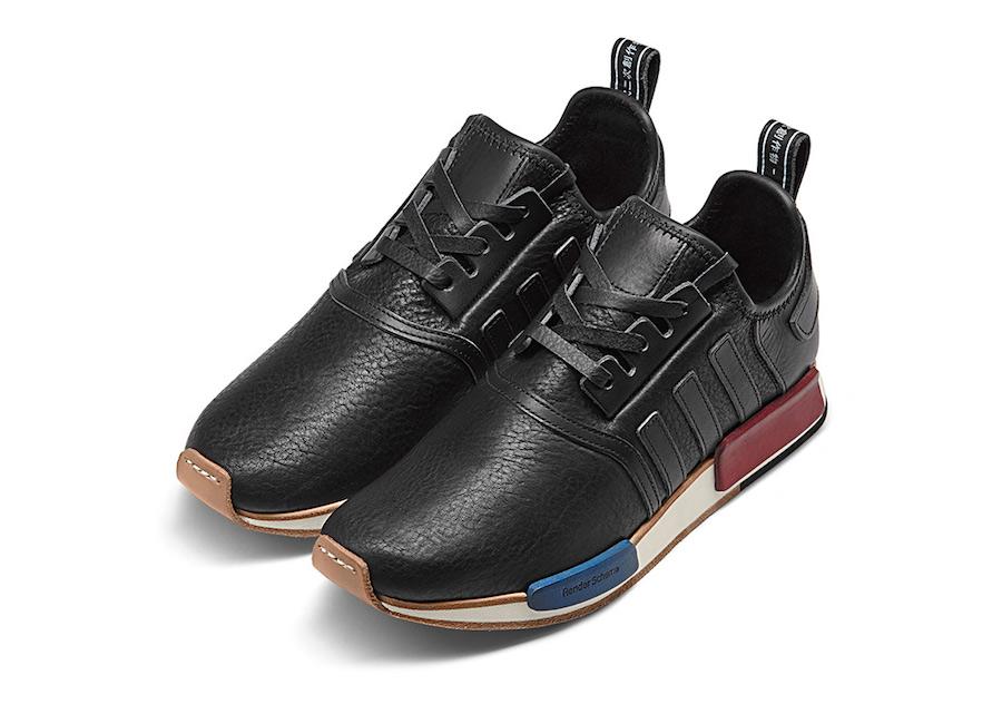 38cb4eeea8915 ... Hender Scheme adidas NMD Black Blue Red ...