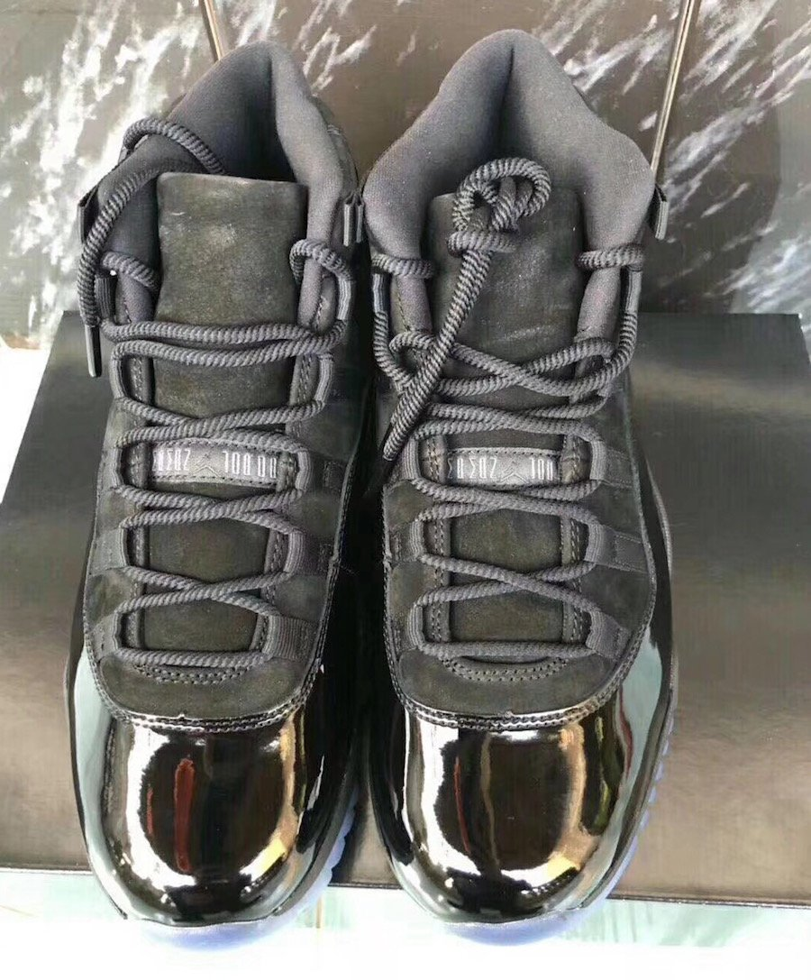 Jordan 11 Blackout Prom Night 378037-005