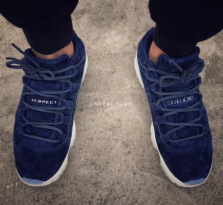 Jordan 11 Low RE2PECT On Feet