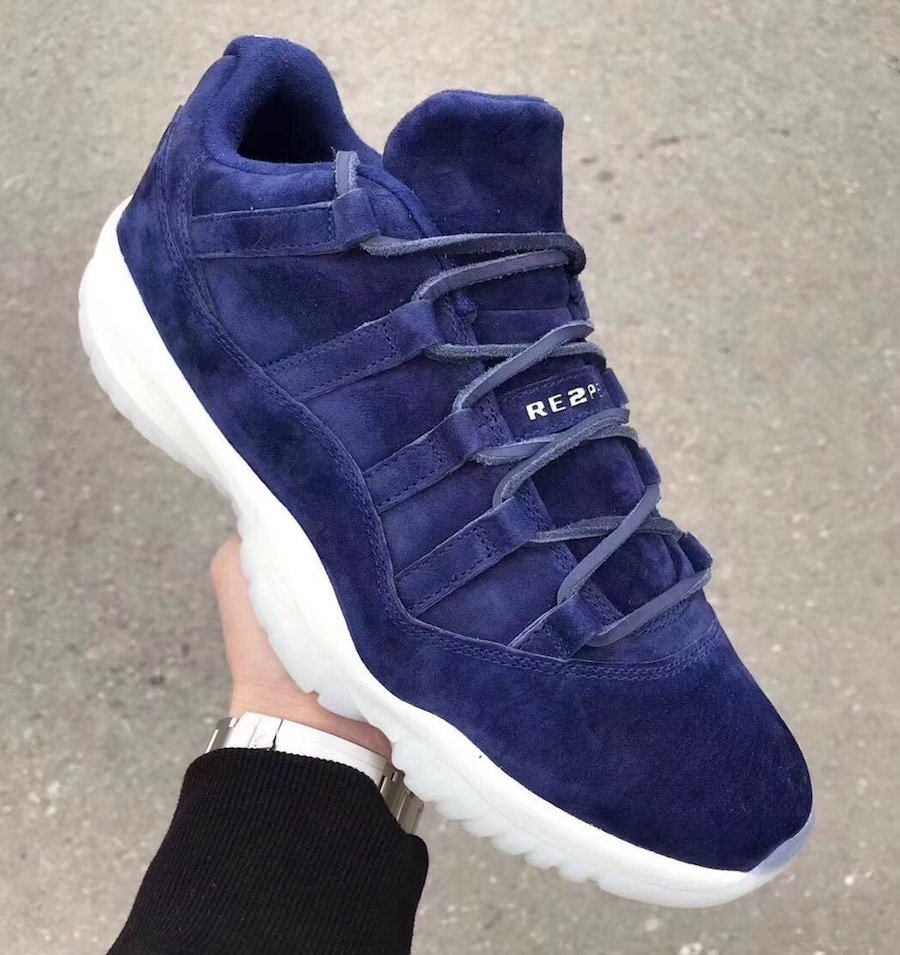 Jordan 11 Low RE2PECT On Feet