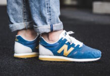New Balance 520 Blue Yellow