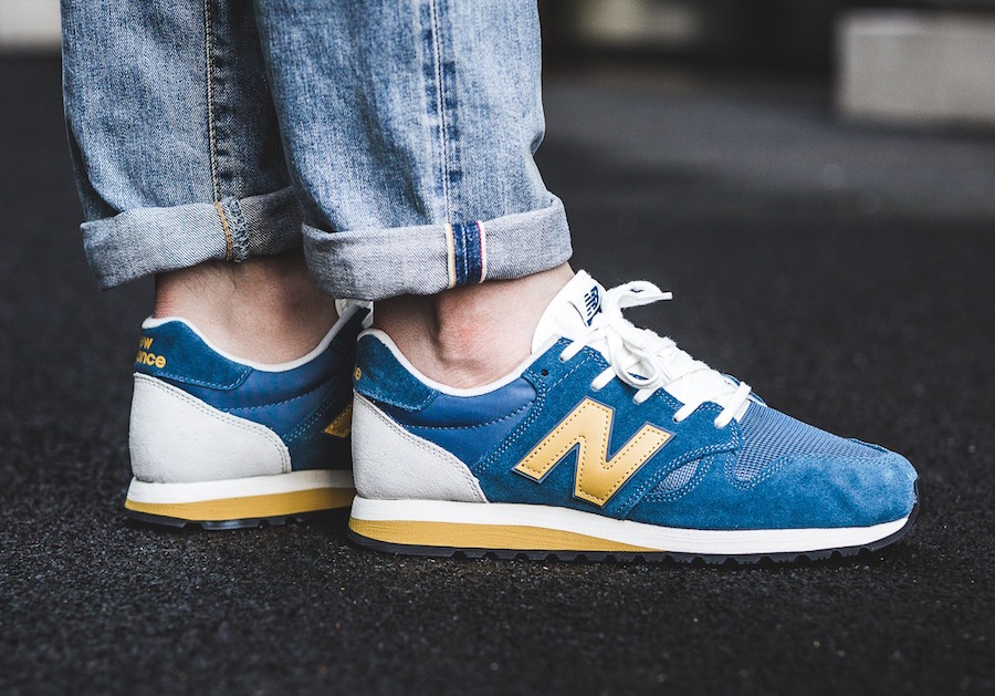 New Balance 520 Blue Yellow