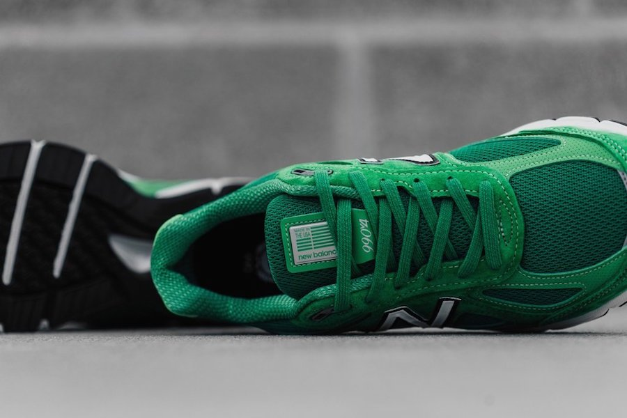 New Balance 990 New Green St Patricks Day