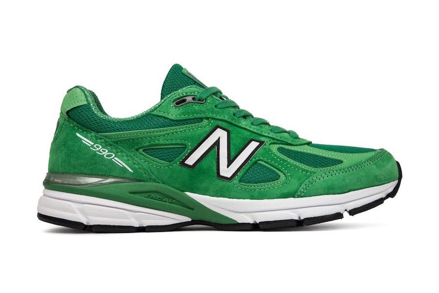 New Balance 990 New Green St Patricks Day