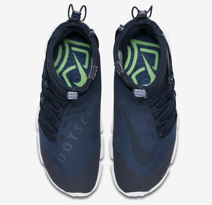 Nike Air Footscape Mid Utility Obsidian 924455-400