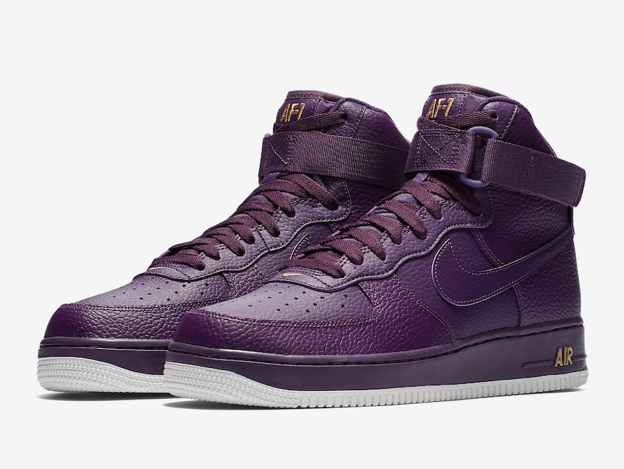 Nike Air Force 1 High Purple 315121-500