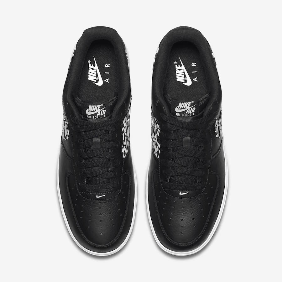 Nike Air Force 1 Low Black Print AQ4131-001