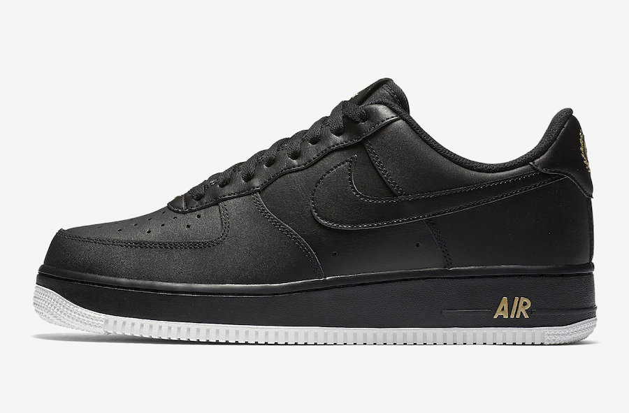 Nike Air Force 1 Low Crest Logo Black AA4083-014