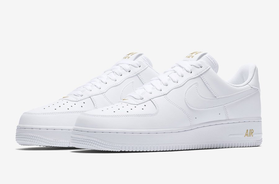 Nike Air Force 1 Low Crest Logo White AA4083-102