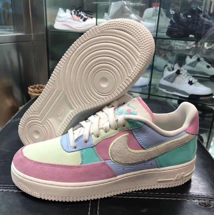 Nike Air Force 1 Low Easter Egg AH8462 400 2018 | SneakerFiles
