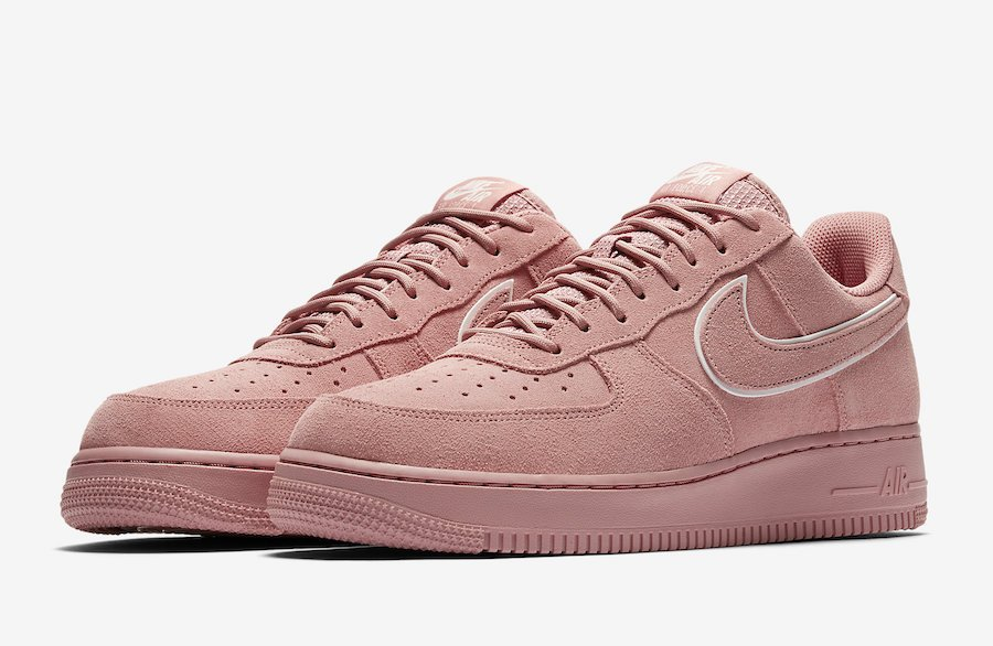 Nike Air Force 1 Low Pink Suede AA1117-601