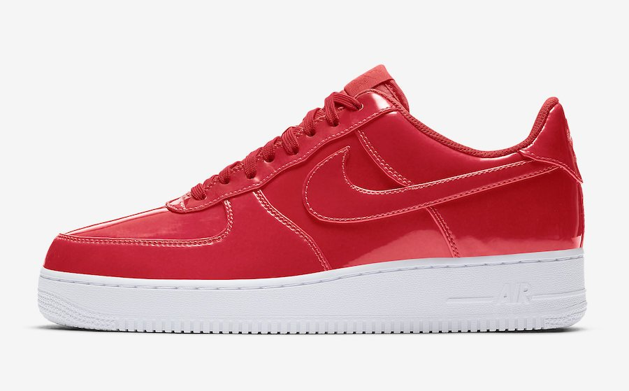 Nike Air Force 1 Low Red Patent Leather AJ9505-600