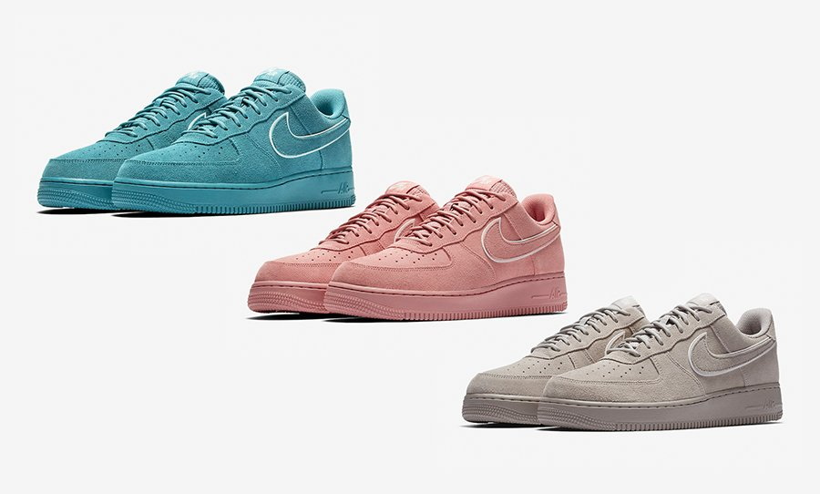 Nike Air Force 1 Low 'Suede Pack'