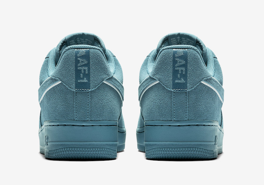 Nike Air Force 1 Low Teal Suede AA1117-400