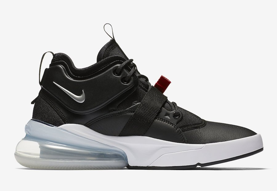 Nike Air Force 270 Metallic Silver Black AH6772-001