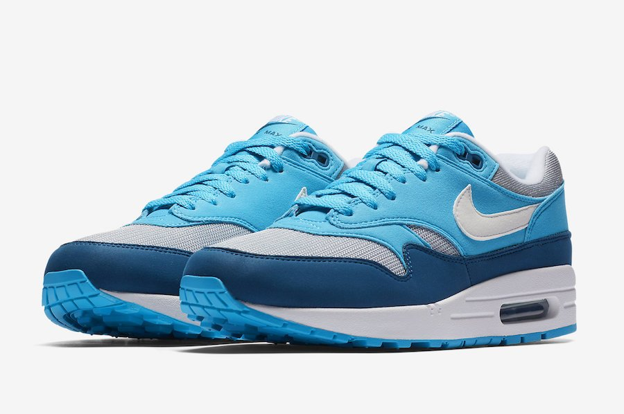 finest selection 2bf75 6699c Nike Air Max 1 Blue Fury AH8145-002