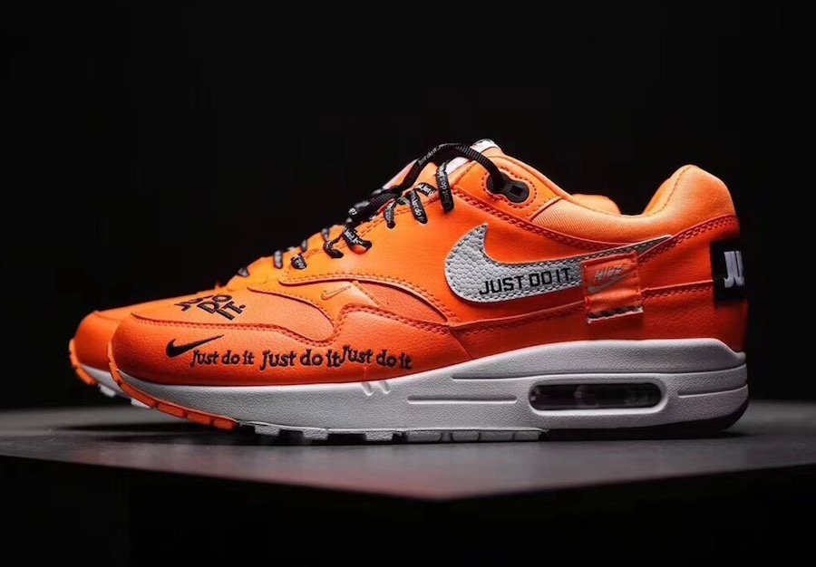 37de3ec11d84 Nike Air Max 1 Just Do It Orange Release Date